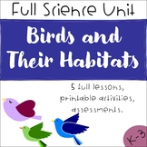 Science Unit Plan - All About Birds! - 5 Full Lessons, Act