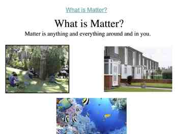 Science Unit: States of Matter with Workbook and ASL support
