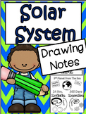 Science Unit: The Solar System Drawing Notes