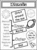 Science Unit: The Solar System Doodle Notes