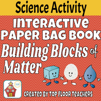 States of Matter Interactive Paper Bag Book