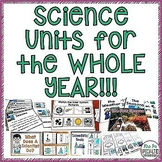 Science Units BUNDLE  (Special Education Science Units)