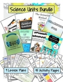 Science Units Bundle - Cells, Fingerprints, Sound, Scienti