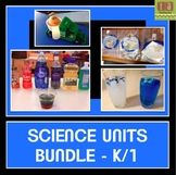Science Units Bundle for Early Elementary