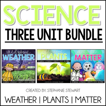 Science Units For The Common Core Classroom {Weather, Plan