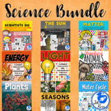 Science Units and Lapbooks Bundle