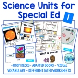 Science Units for Special Ed Bundle