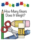 Science - Using a Balance Scale... How Many Bears Does It Weigh?