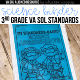Science VA SOL Standards-Based Assessments 3rd Grade