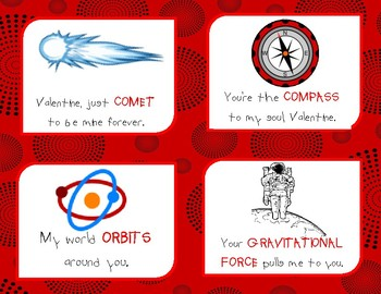 Science Valentine Cards