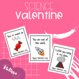 Science Valentine's Day Cards  ( Valentines )