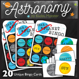 Star and Planet Bingo Game