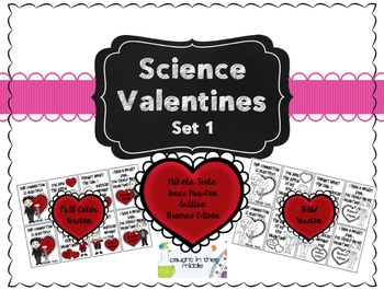Science Valentines Bundled Set
