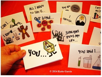 Science Valentine's Cards