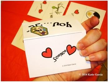 Science Valentine's Cards