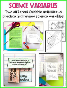Science Variables Independent, Dependent, Controlled Variable Lesson