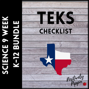 Science Vertical TEKS Checklist K-12