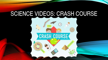 Crash Course Science Video Guide Bundle (ALL EPISODES)