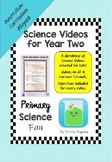 Science Videos for Year Two (Australian Curriculum)