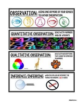 Science: Visual Vocabulary Cards