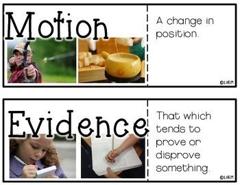 Science Vocab Cards {Bundle & Save}
