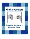 Science Vocab Matching Cards