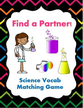 Science Vocab Matching Game