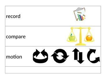 Science Vocab Words