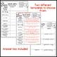 Science Fun Interactive Vocabulary Dice Activities EDITABLE - GROWING BUNDLE