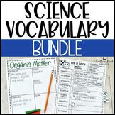 Science Fun Interactive Vocabulary Dice Activities EDITABL