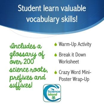 Science Vocabulary Activities