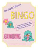 Science Vocabulary Bingo 6th Grade