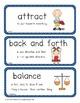 Science Vocabulary Cards - Kindergarten (Science Fusion)