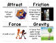 Science Vocabulary Cards: Motion