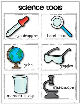 science scientists chart vocabulary anchor tools cards scientific kindergarten pack young grade elementary classroom lessons lab inquiry teacherspayteachers clipart scientist