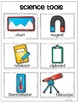 Science Tools {Vocabulary Cards and Anchor Chart Pack} for