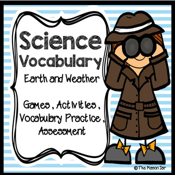 Science Vocabulary: Earth and Weather