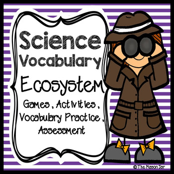 Science Vocabulary - Ecosystem