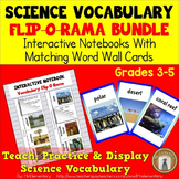 Science Vocabulary Interactive Notebook Bundle