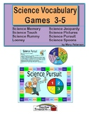 Science Vocabulary Games 3-5