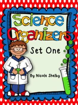 Science Vocabulary Graphic Organizers (editable)