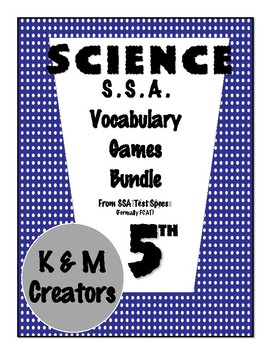Science Vocabulary- I have, Who has- Bundle