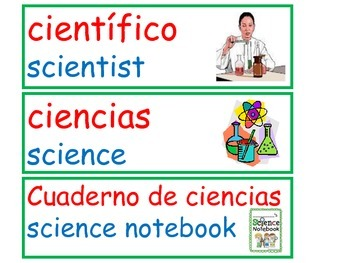 Science Vocabulary Inquiry