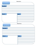 Science Vocabulary Journal Cards for All Grade Levels