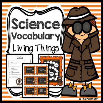 Science Vocabulary - Living Things