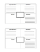 Science Vocabulary Log - Life Cycle of a Plant
