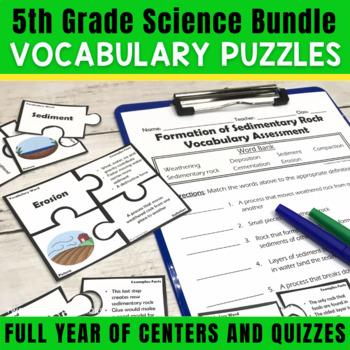 Science Vocabulary Puzzles: Growing Bundle