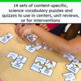 Science Vocabulary Puzzles Growing Bundle #HotWinter