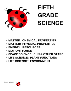 Science Vocabulary Puzzles for Fifth Grade