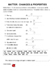 Science Vocabulary Puzzles for Fourth Grade